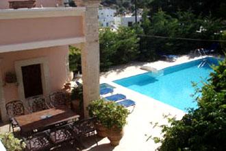 villa pool pasiphae kamilari kreta