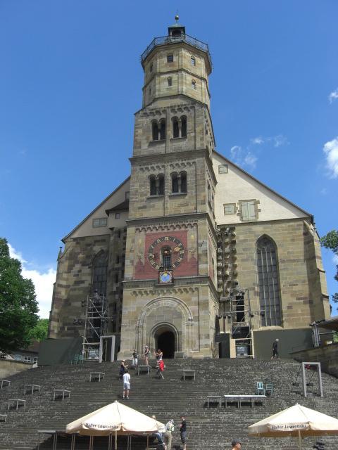 Kirche in Schwäbisch-Hall