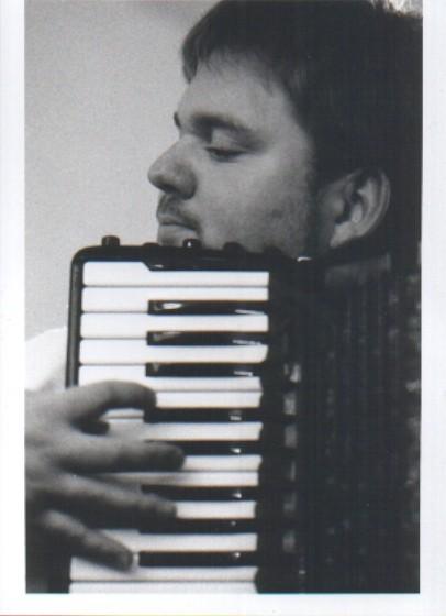 Bernhard Kohlhauf, Akkordeonist    Foto: T. Weigel