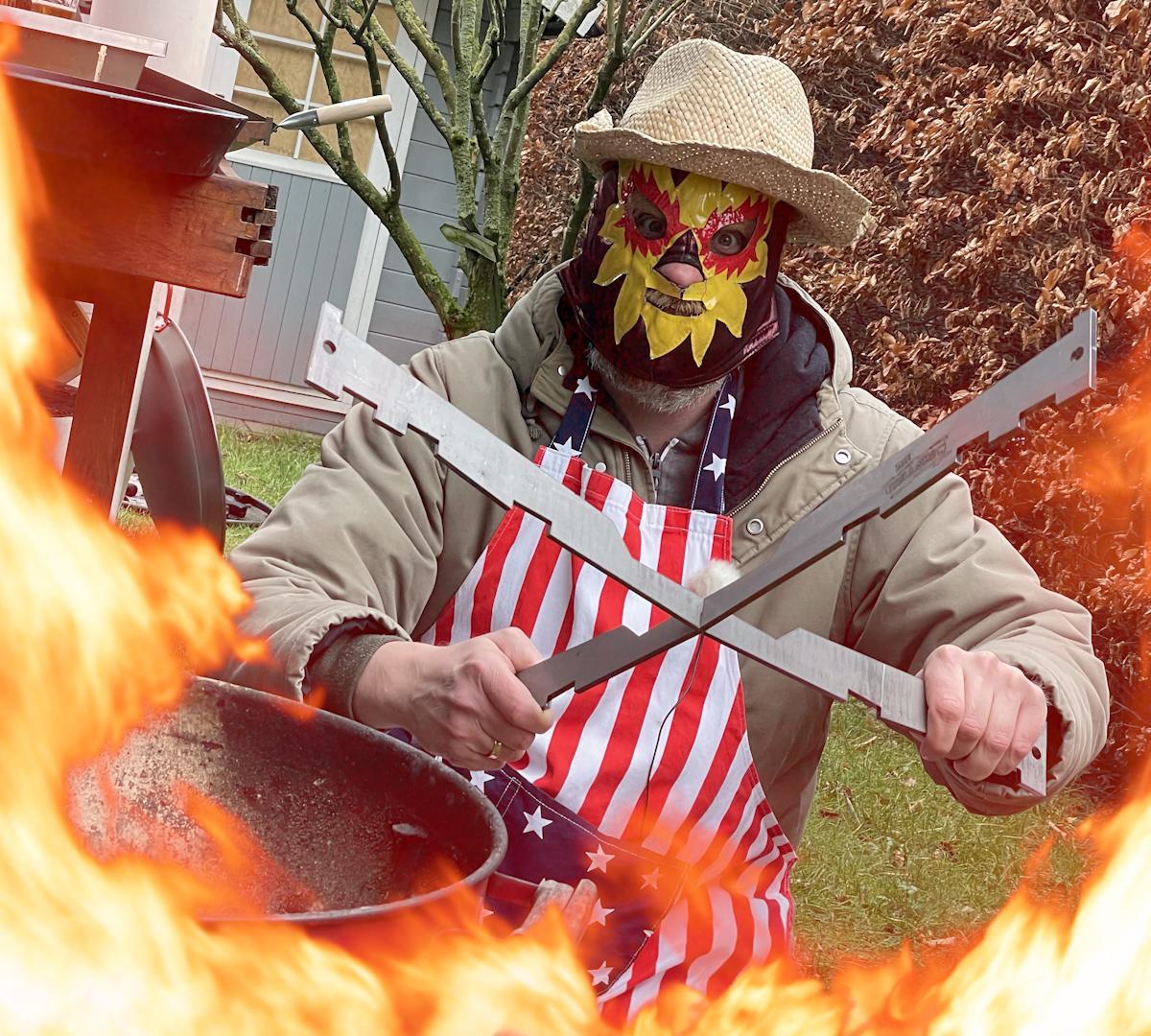 Das Grillshow BBQ Kreuz