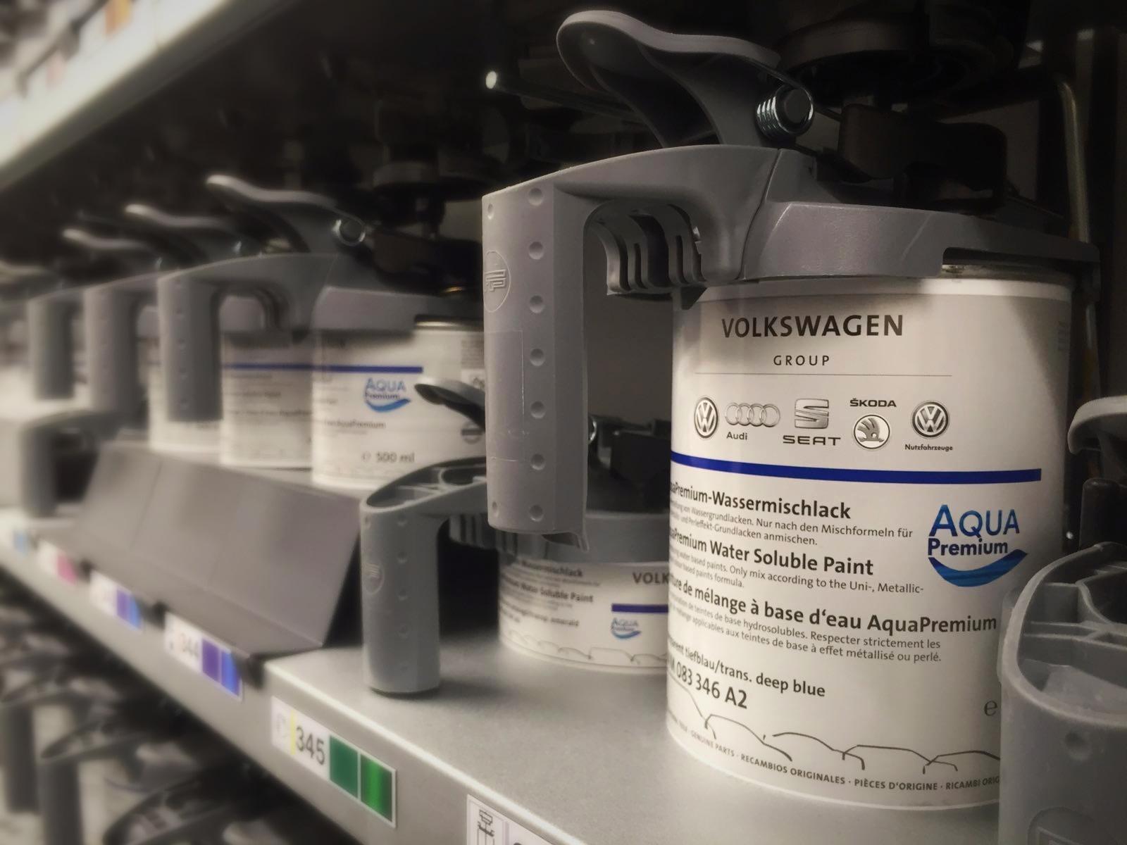 AquaPremium - Die Originallacke von der Volkswagen AG!