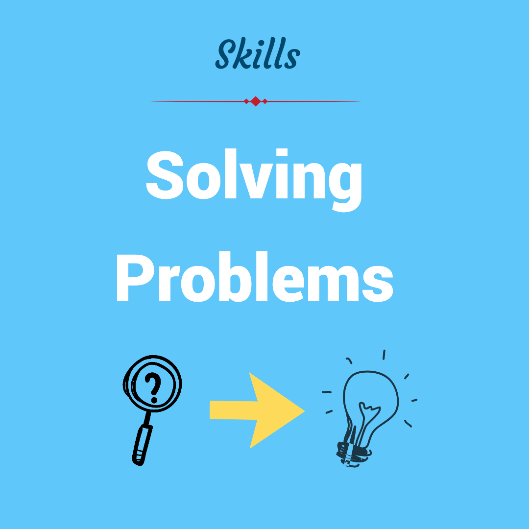 Can you master the problem solving skill?