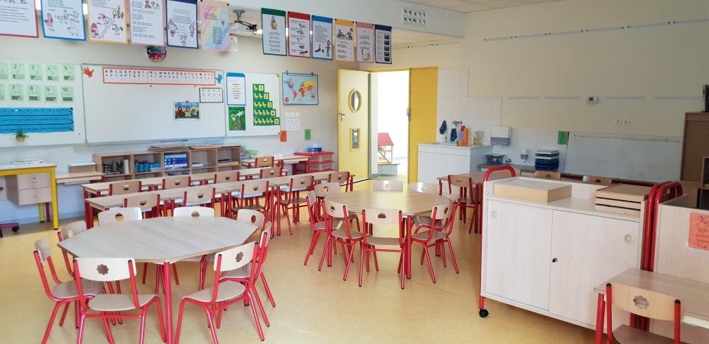 Classe de Maternelle (Ecole d'Yssac)