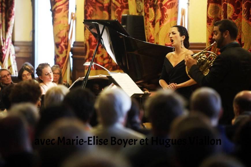 Concert avec Marie-Elise Boyer, piano et Hugues Viallon, cor - Hôtel du Département de la Loire, Saint-Etienne