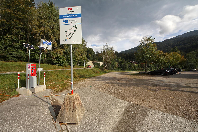 """Parkplatz für """"Nachtparker"""""""