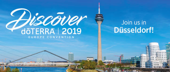 doterra Convention in Duesseldorf Mai 2019 Tickets