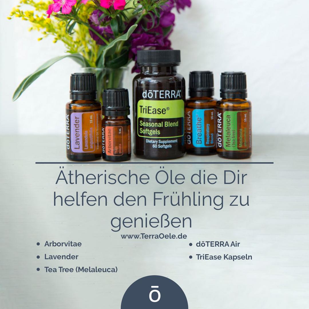 Ätherische Öle im Frühling