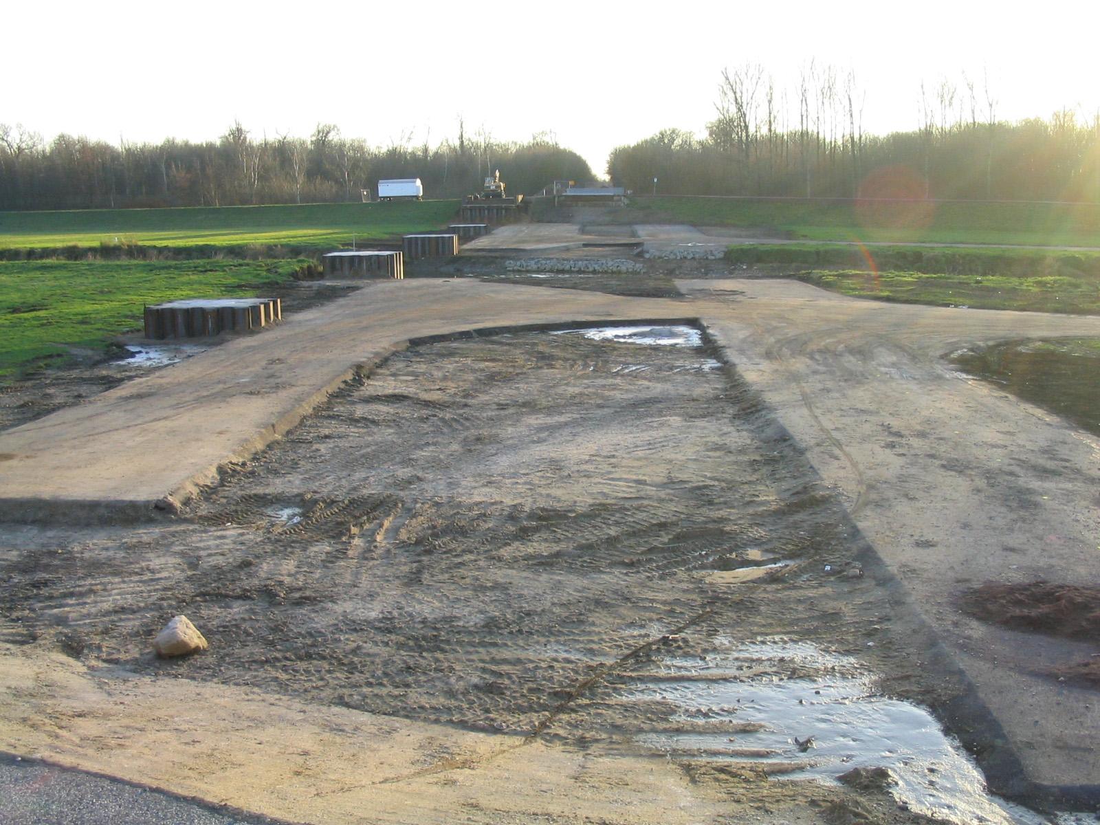03.12.2006 - Neue Brücke im Bau