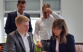 NLZ Nachwuchsleistungszentrum Deutsche Vermögensberatung, unser Plan, unsere Taktik