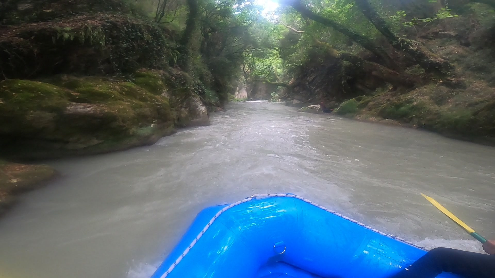 Peloponnes Tour - Wildwasser Rafting