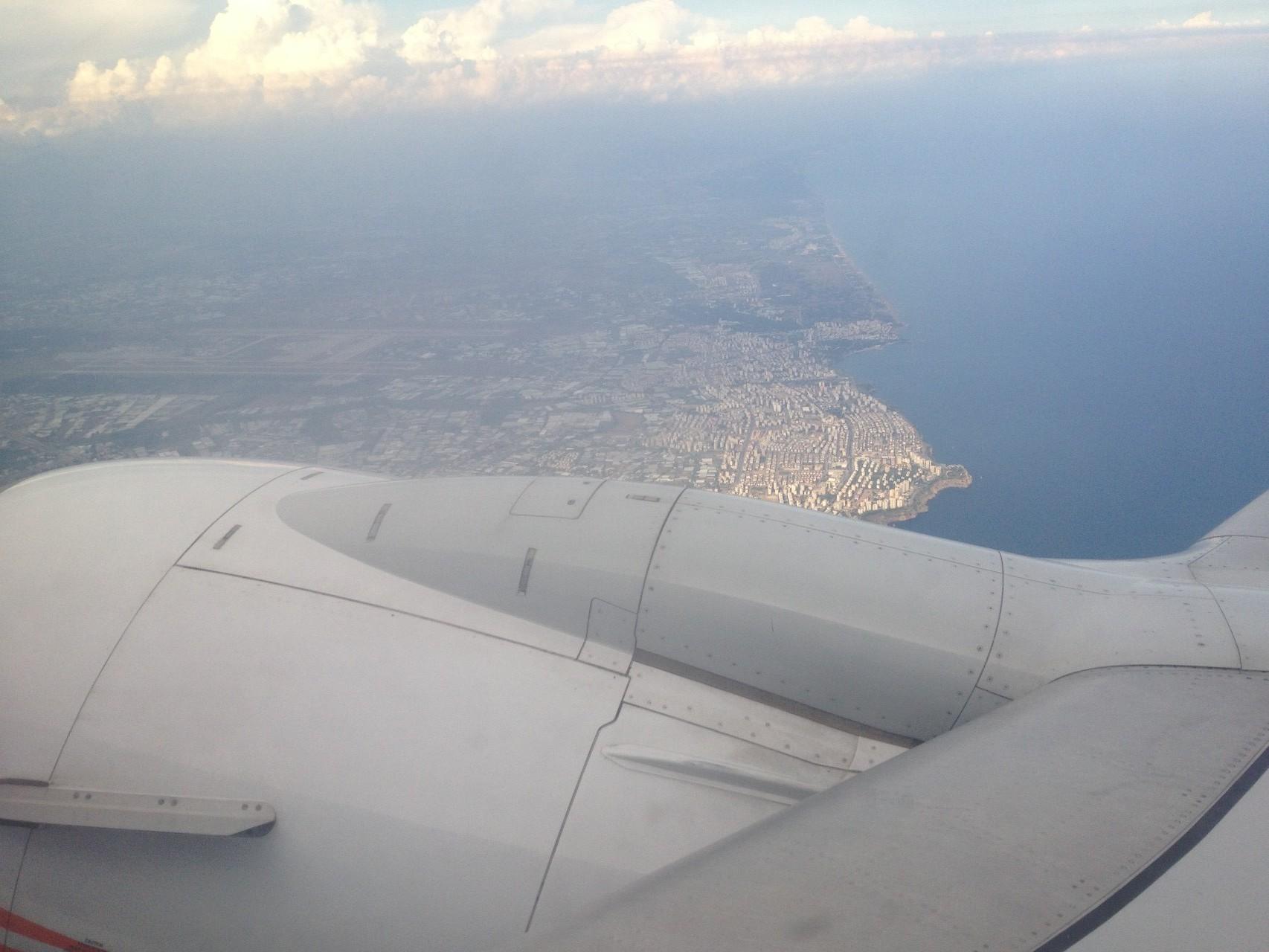 Anreise mit Fly-Niki
