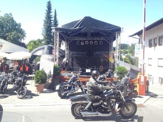 Harley Treffen Kitzbühel