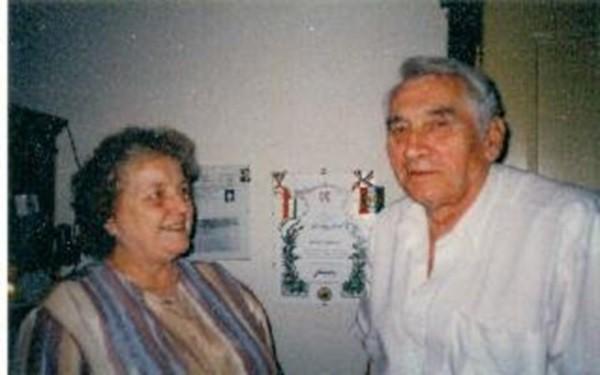 Karin und Karl-Heinz Pahling, ca. 1996.