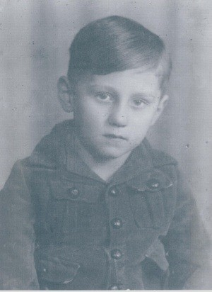 Karl-Heinz Pahling im Alter von 5 Jahren