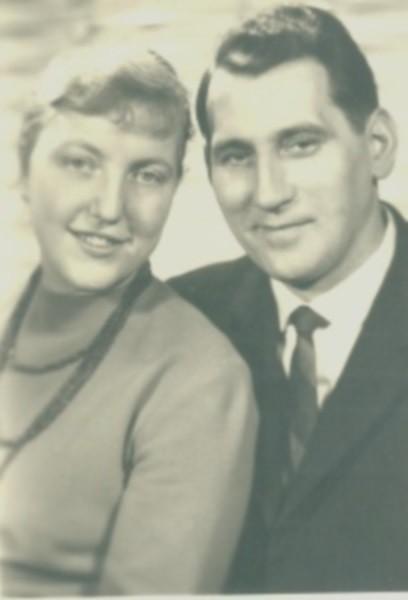 Karin und Karl-Heinz Pahling, ca. 1966.