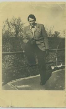 Karl-Heinz Pahling kurz nach Haftentlassung, ca. 1962