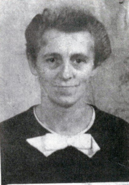 Martha Pahling, die Mutter.