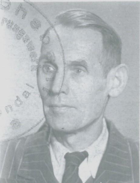 Karl Pahling, der Vater.