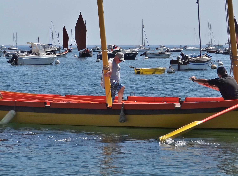 Départ de la flotille