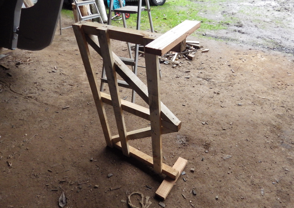 Fabrication de chevalet