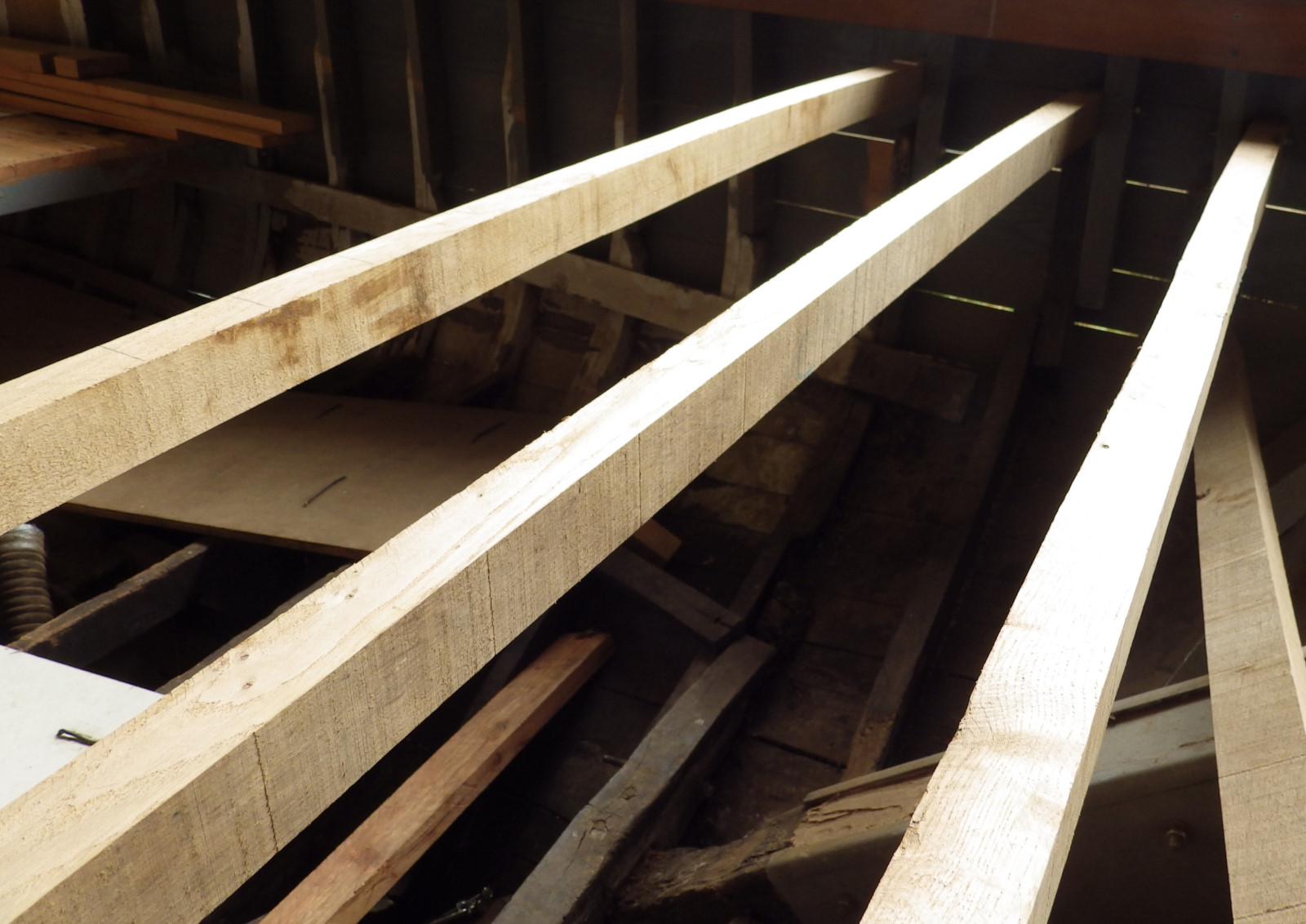 Barrots du pont de la chambre