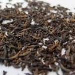 陳年プーアル茶 (ちんねんプーアルちゃ) 油っこい食事のあとにぴったり。 口の中がスッキリします。 アイスティーにしても美味しい。