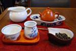 1)茶器や茶葉お湯などを用意します。::悟空::--横浜中華街で生まれて30年。中国茶・中国茶器専門店