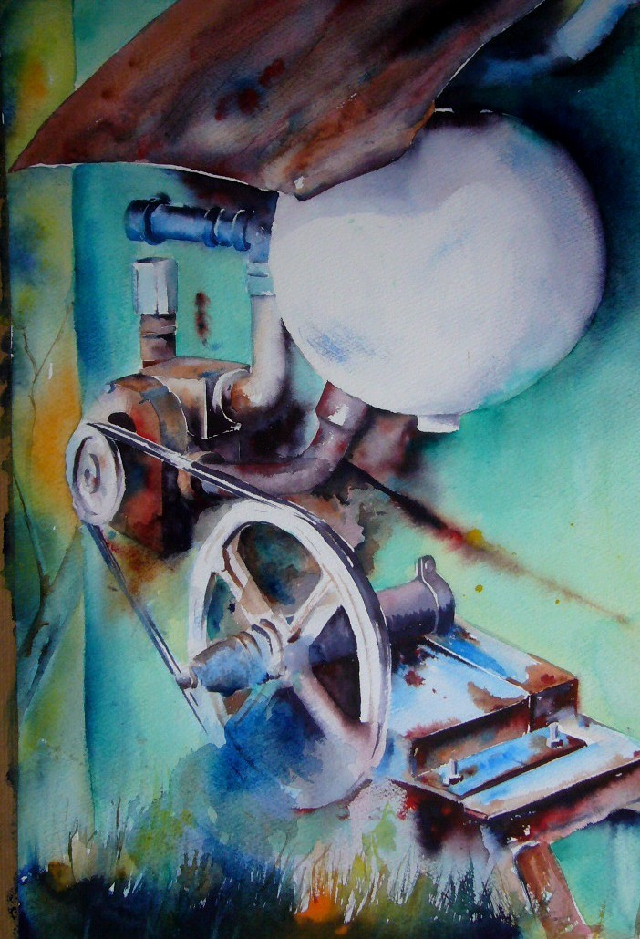 Machine à traire 50x70