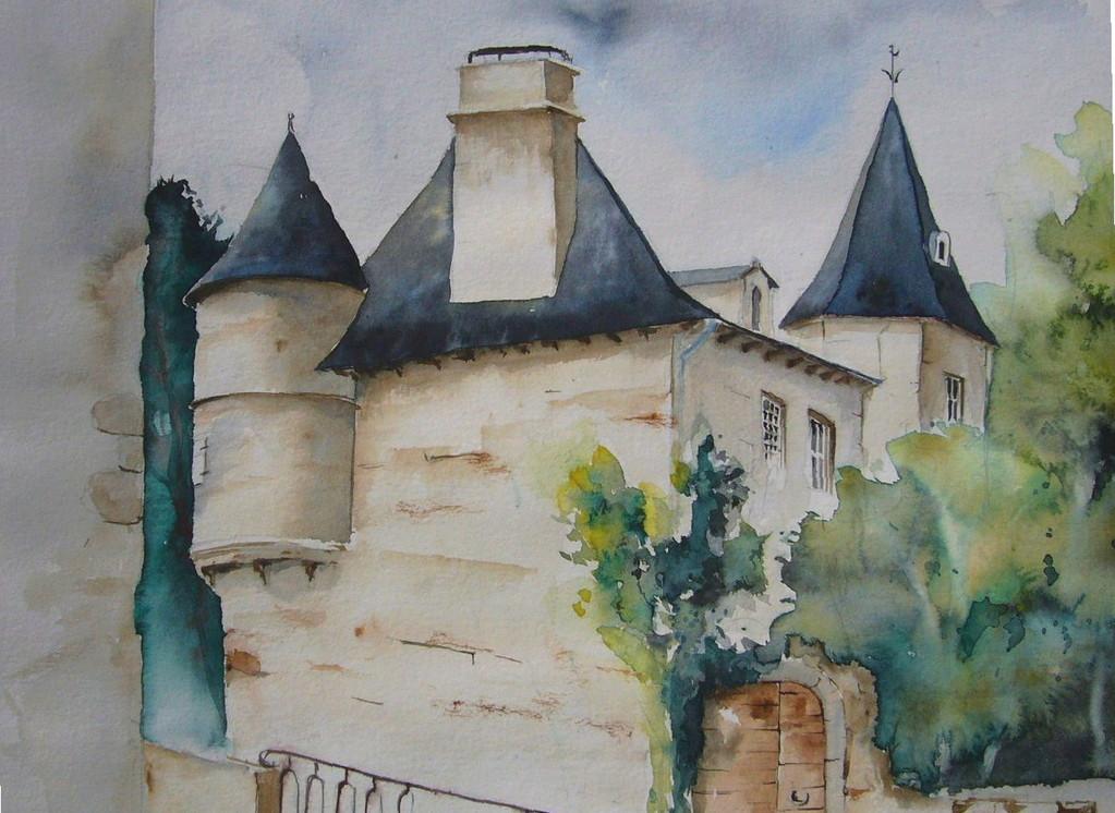 Maison du chevalier des huttes 50x50