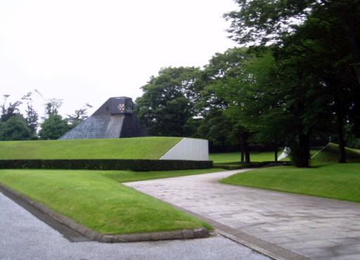 2005年07月14日 所沢聖地霊園 所沢市  コウライシバ ノシバ 年間管理