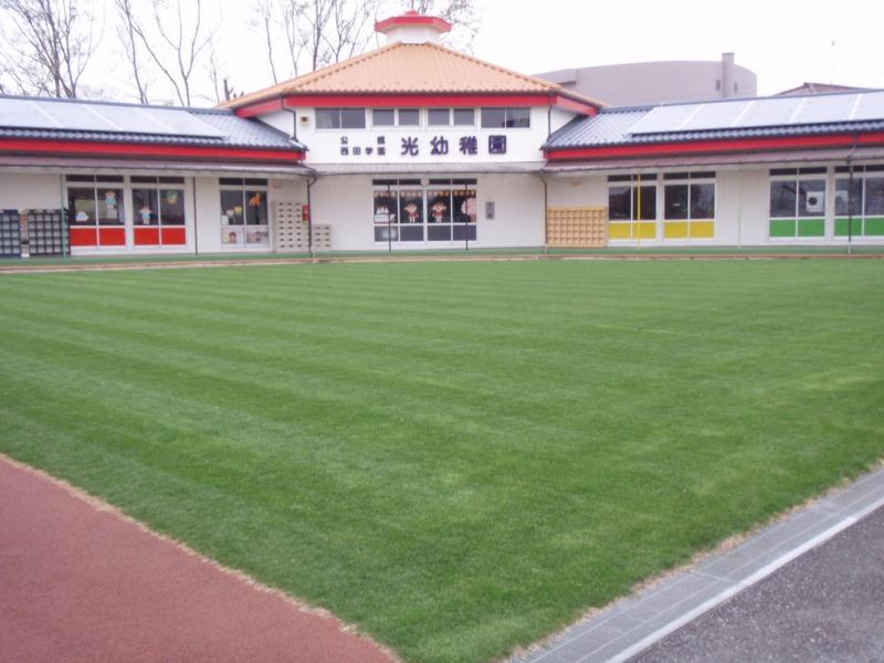 2013年03月30日 町田市 光幼稚園  ティフトン419 WOS 年間管理