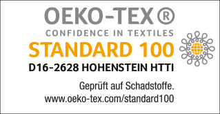 oeko Tex 100 Standard gültig bis 31.8.2020