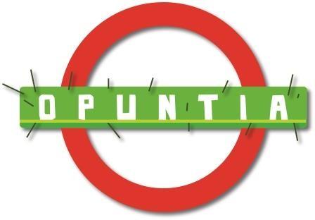 Le nouveau logo du groupe de rock rouennais Opuntia