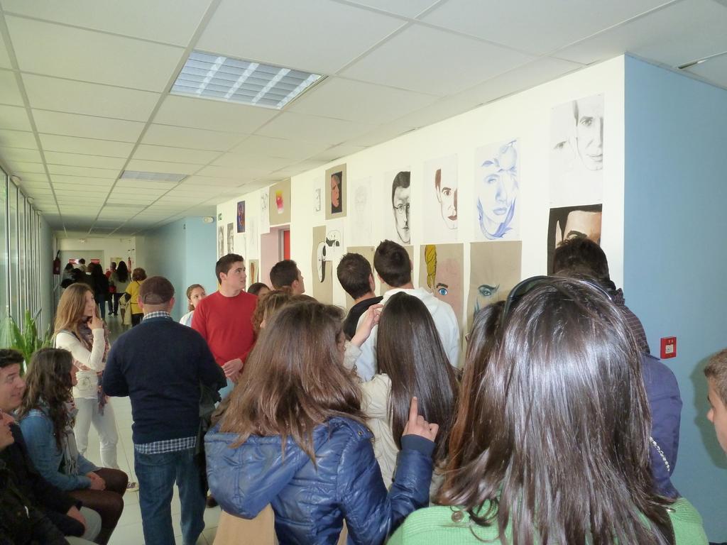 Visite du Lycée de la Herdrie