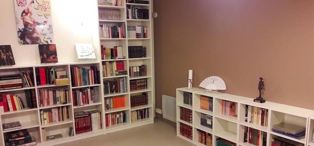 La bibliothèque Cervantes