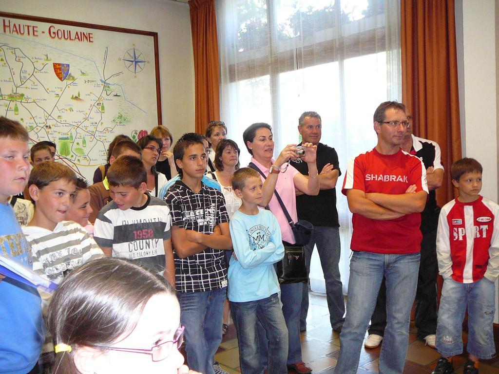 Les jeunes espagnols et les familles françaises