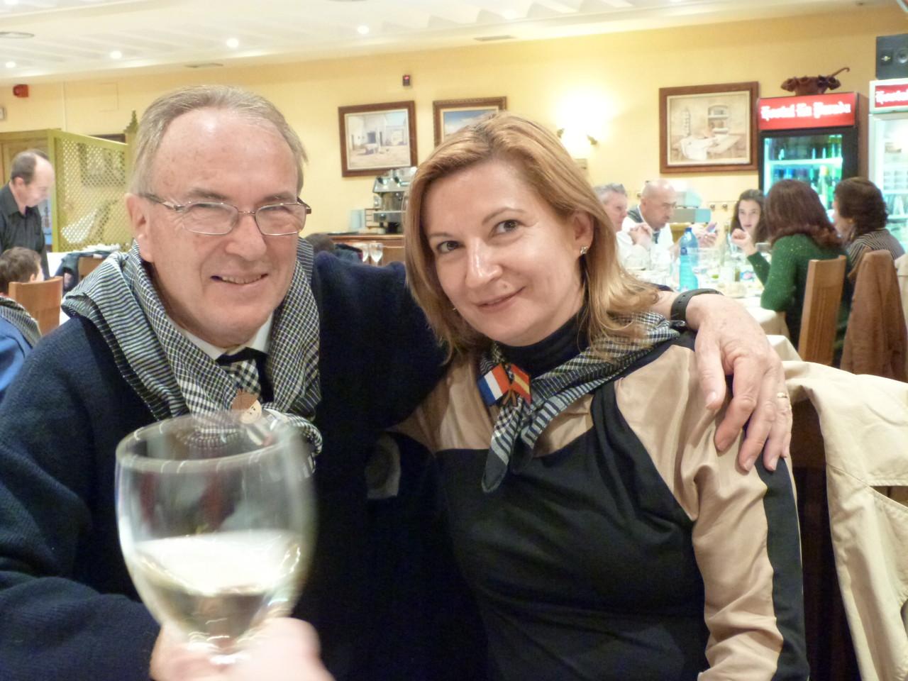 Les 2 vice-présidents, Ana (LAHG) et Jean (LAPM)