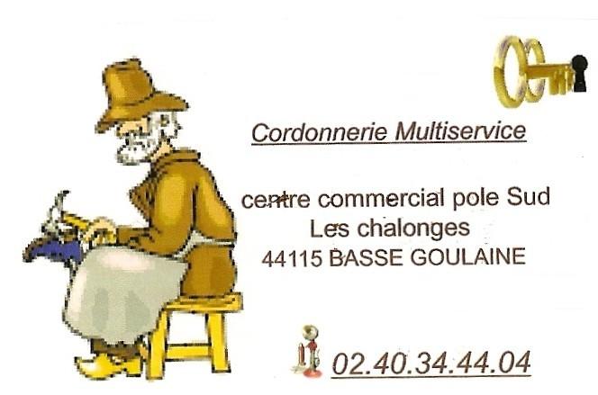 Cordonnerie services