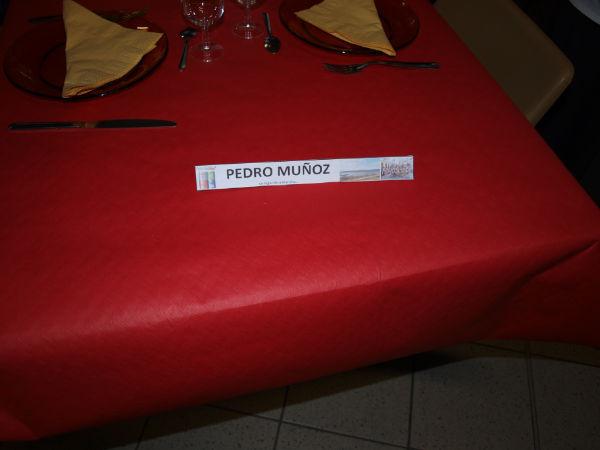 """Soirée tapas, la table """"Pedro Muñoz"""""""