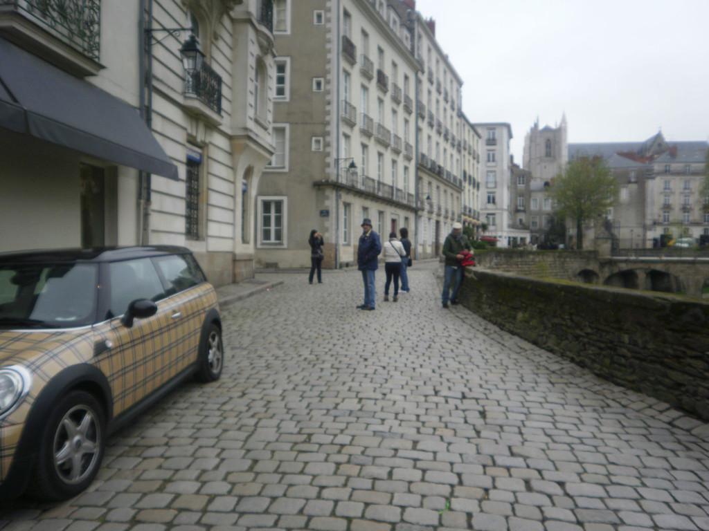 Les rues de Nantes