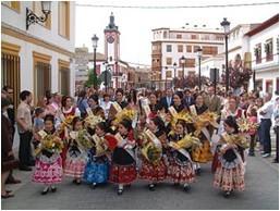 """Défilés et processions avec les """"Damas"""""""