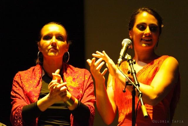 Photo Gloria Tapia / Sandrine Allano et Helena Cueto