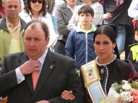 Reina 2011 et M le Maire