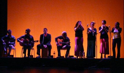 2013 - Soirée tapas & flamenco avec la Peña flamenca Planta Tacon