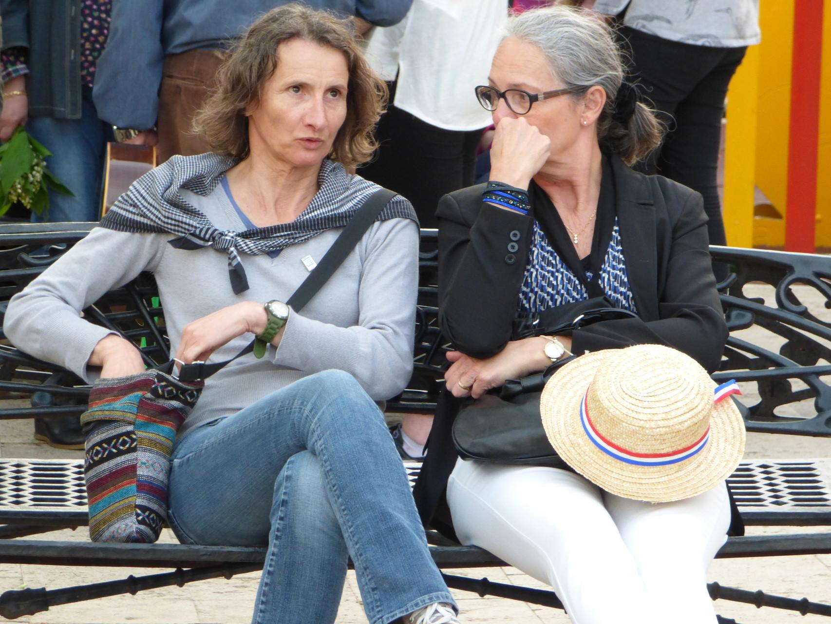 Suzanne Desforges et Laurence Papaiconomou