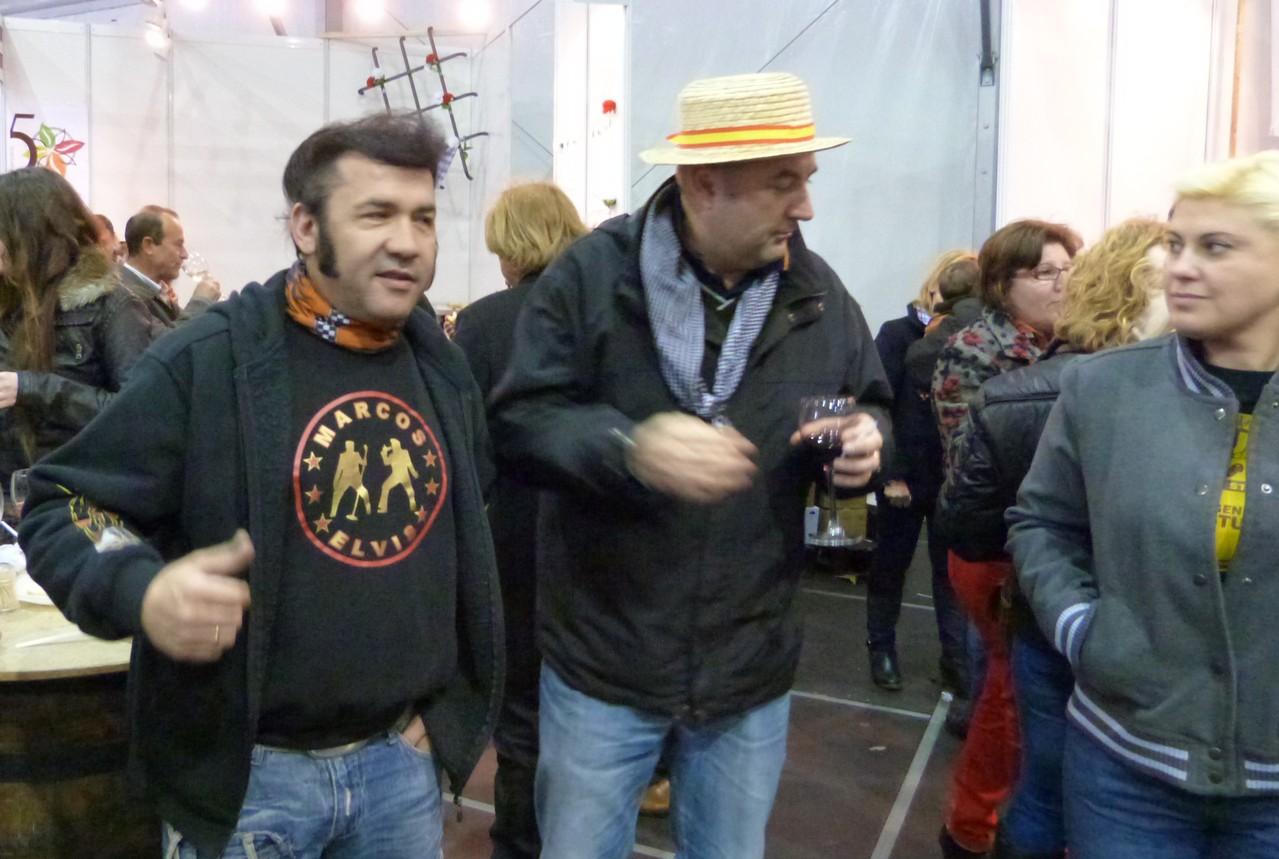 Avec Marcos Elvis