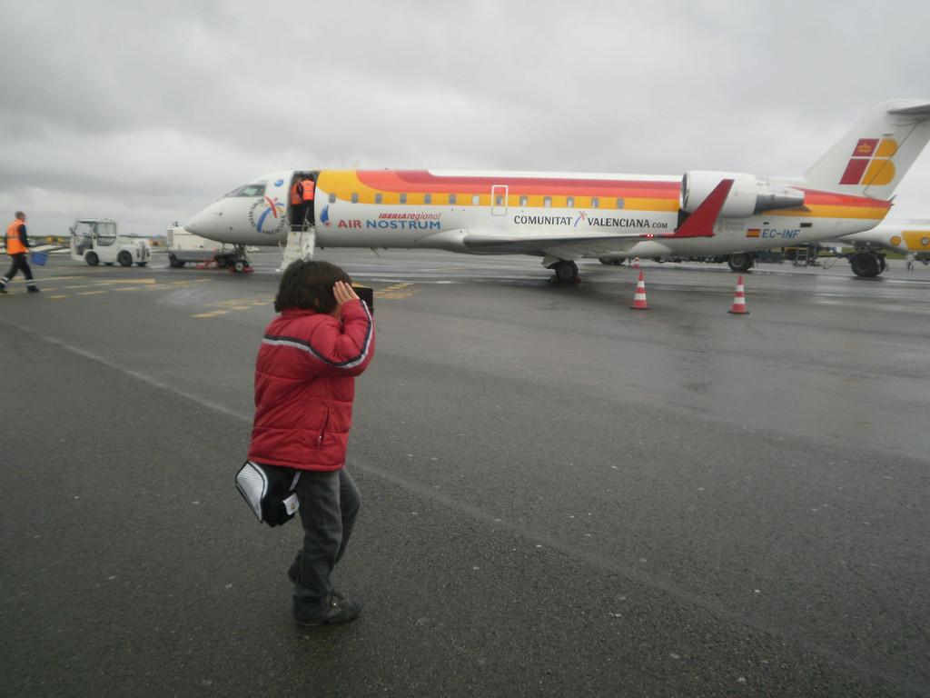 Arrivée à Nantes Atlantique