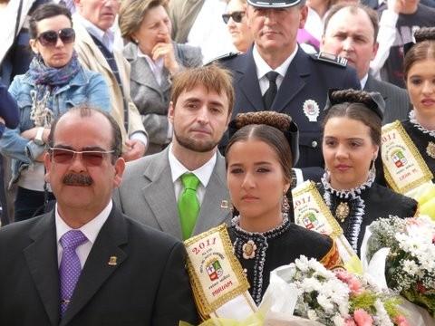 L'arrivée des Damas accompagnées des Autorités