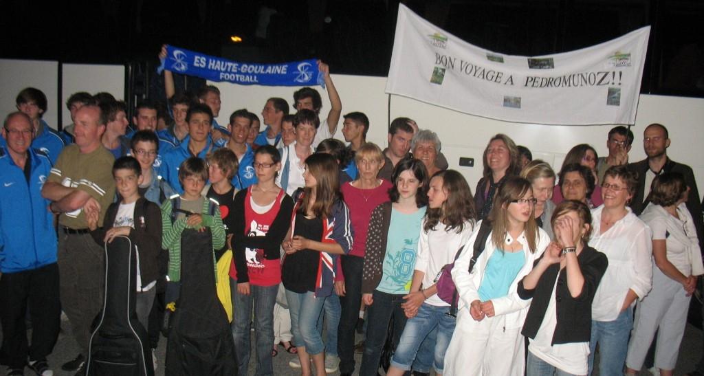 Jeudi 3 juin 2010, départ de Haute Goulaine