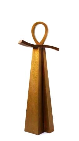 """""""Exodos"""" , bronze, H 39-cm"""